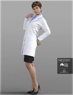 Doctor Coat Outfit for Genesis 3 Female(s)