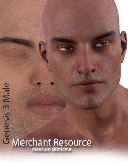 Genesis 3 Male Merchant Resource- Medium Skin
