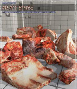 Photo Props: Meaty Bones