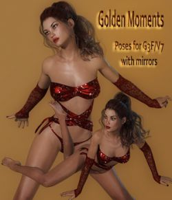 Golden Moments Poses for G3F / V7