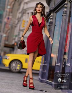 Fifth Avenue Outfit for Genesis 3 Female(s)