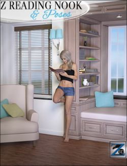 Z Reading Nook & Poses
