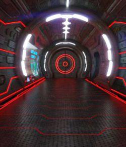 New Textures for AJ Sci Fi Corridor