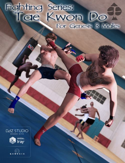 Fighting Series: Tae Kwon Do for Genesis 3 Male(s)