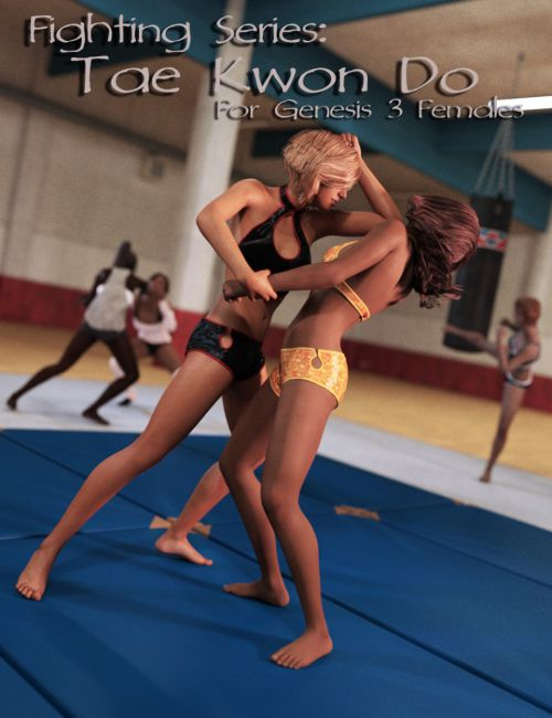 Fighting Series Tae Kwon Do For Genesis 3 Female S 3d
