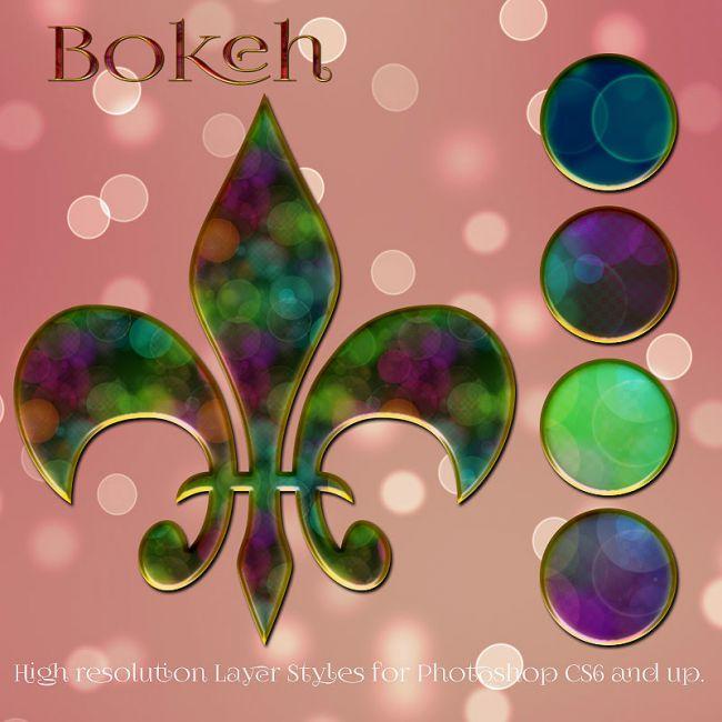 Bokeh Styles