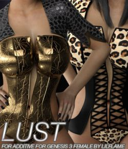 LUST- Additive for Genesis 3 Female(s)