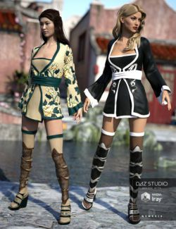 Red Lilies Outfit Textures