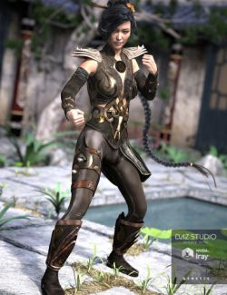 Mercurial Guardian Outfit for Genesis 3 Female(s)