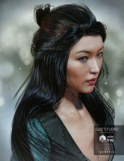 Ohara Hair for Genesis 3 Female(s)