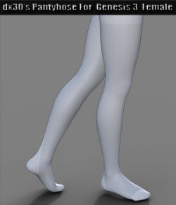 dx30\'s Pantyhose For Genesis 3 Female(s)