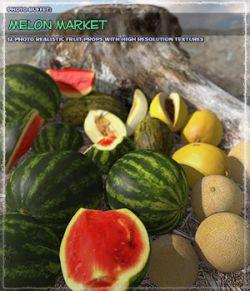 Photo Buffet: Melon Market