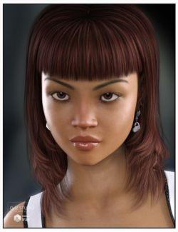 Dimi Hair for Genesis 3 Female(s)