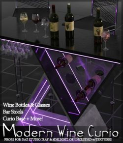SV's Modern Wine Curio
