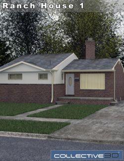 Collective3d Neighborhood Ranch House 1
