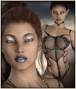 Dark Elven Beauty for G3F