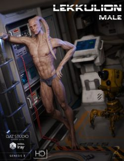 Lekkulion for Genesis 3 Male