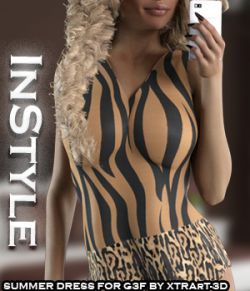 InStyle:#BeFancy - Summer Dress for G3F