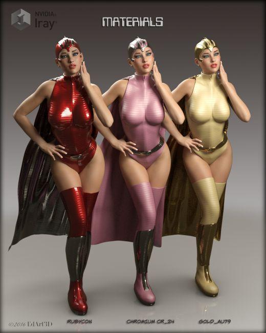 Space Heroine for Genesis 3 Female(s)