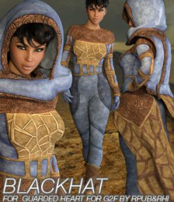 BLACKHAT- Guarded Heart Clothing for G2F