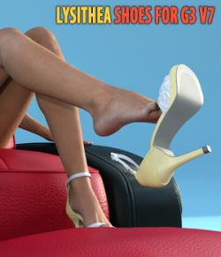 Lysithea Shoes- for Genesis 3