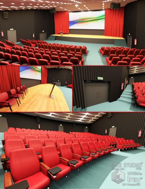 Auditorium with Props