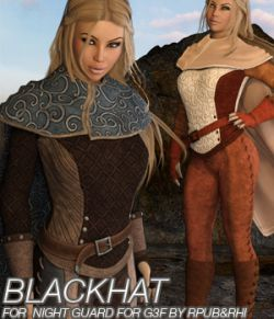 BLACKHAT- Night Guard for Genesis 3 Females