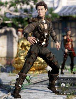 Mercurial Guardian Outfit for Genesis 3 Male(s)