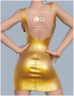 Moon Dress for Genesis 2 & 3 Female(s)