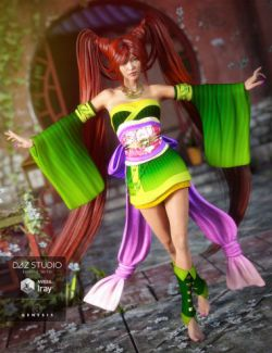 Jade Tiger for Genesis 3 Female(s)