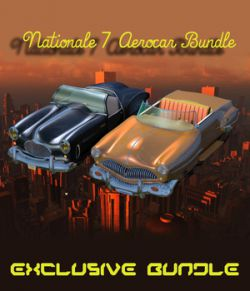 N7 AEROCAR BUNDLE ( Poser and OBJ )