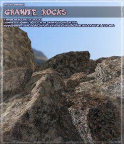 Photo Props: Granite Rocks