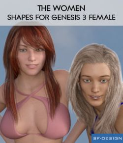The Women - Shapes for Genesis 3 Female
