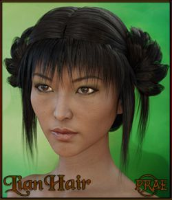 Prae-Lian Hair for Genesis 3