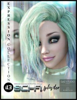 i13 Sci-Fi Splendor Expressions for the Genesis 3 Female(s)