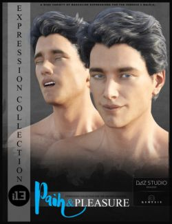 i13 Pain and Pleasure Expressions for the Genesis 3 Male(s)