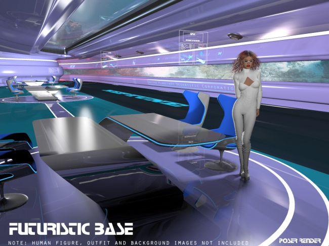 AJ Futuristic Base