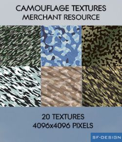 Camouflage Textures - Merchant Resource