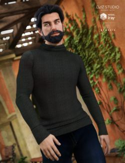 Real Feel Turtleneck Classic for Genesis 3 Male(s)