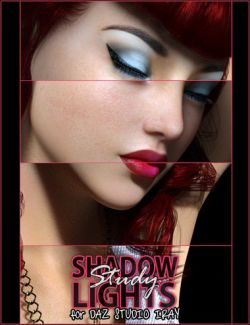 Shadow Study Lights for Daz Studio Iray