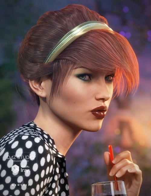 Chic Hair for Genesis 3 Female(s)