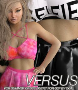 VERSUS - Summer Cross Fashion for Genesis 3 Female(s)