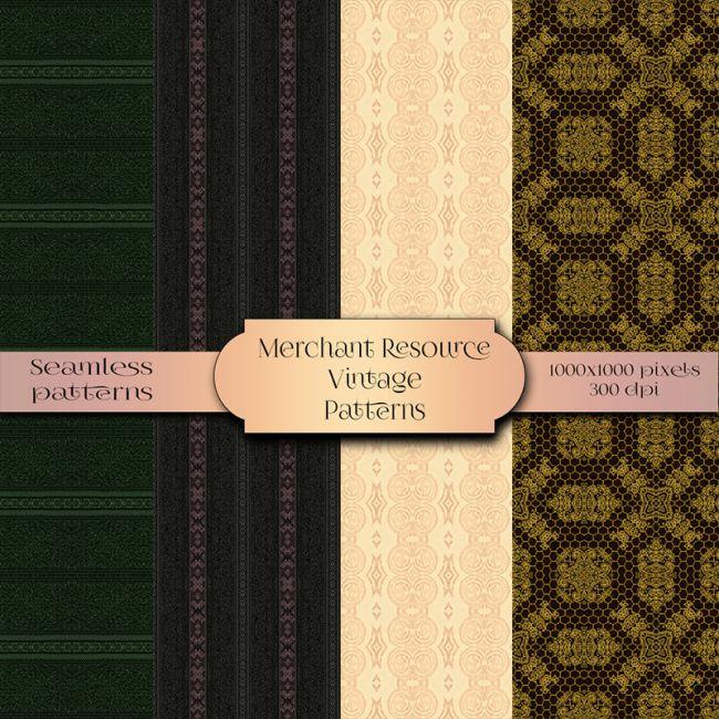Merchant Resource - Vintage Patterns