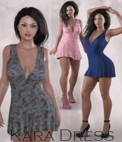 Kara Dress for Genesis 3