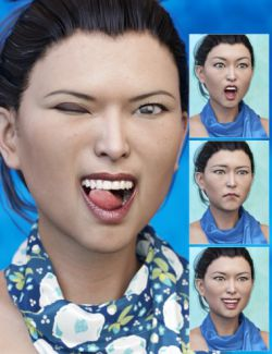 Expressions for Mei Lin 7 and Genesis 3 Female(s)