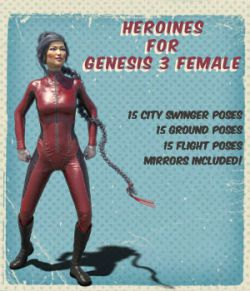 Heroines for Genesis 3 Female