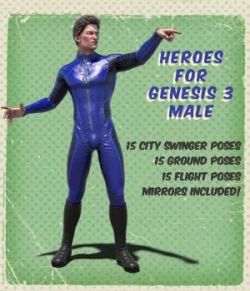 Heroes for Genesis 3 Male