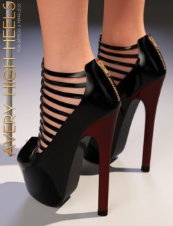 Avery High Heels for Genesis 3 Female(s)
