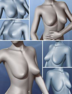 Natural Breast Shapes for Genesis 3 Female(s)