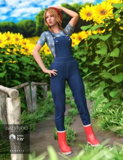 Garden Outfit for Genesis 3 Female(s)